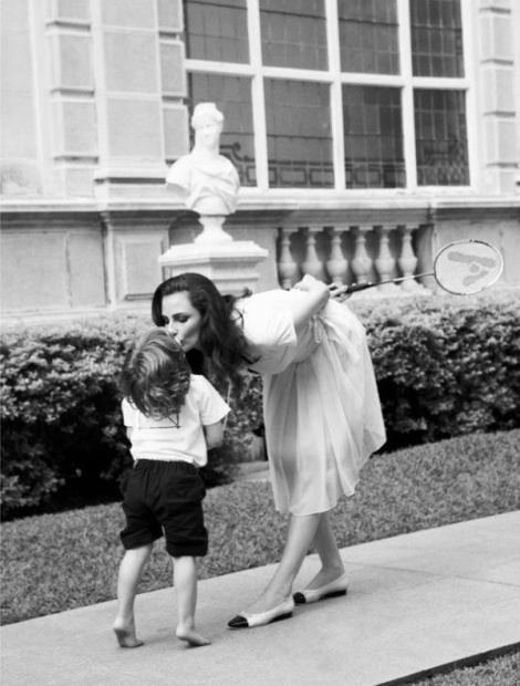 Vestido blanco para mamá